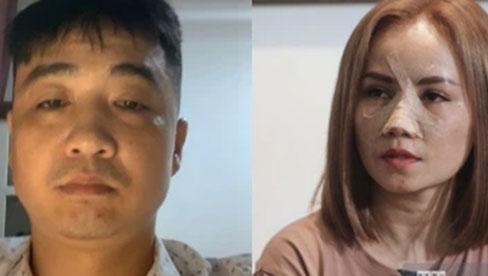"""Chồng thứ 4 chính thức lên tiếng xin lỗi """"cô Xuyến"""" Hoàng Yến sau vụ hành hung chấn động, livestream nói rõ lý do"""
