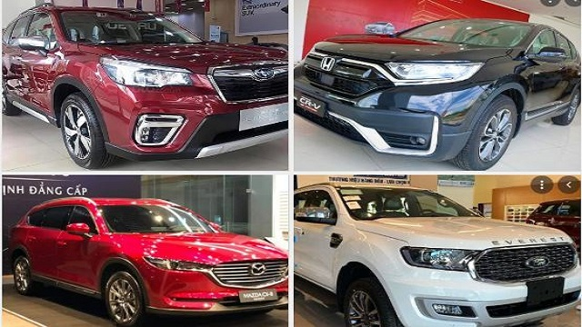 Loạt xe SUV 'hàng hot' đại hạ giá trong tháng 6