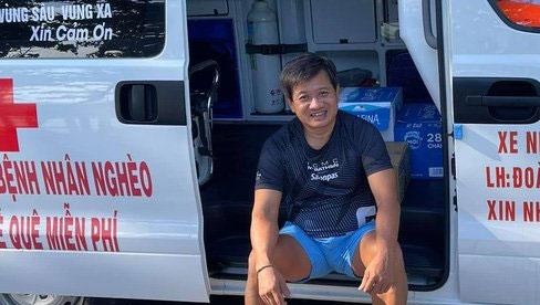Ông Đoàn Ngọc Hải bị trù ẻo khi khoe xe cứu thương mới giá 3 tỷ: Nó sẽ hành bác khốn khổ