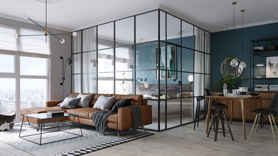 Những mẫu vách ngăn chia tách phòng cho nhà nhỏ tạo không gian bất ngờ-5