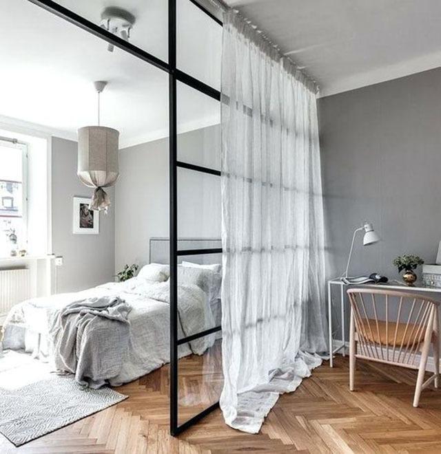 Những mẫu vách ngăn chia tách phòng cho nhà nhỏ tạo không gian bất ngờ-6