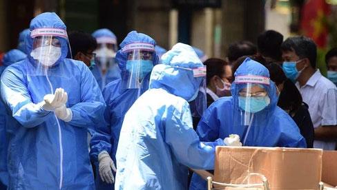Trưa 6/7 ghi nhận 242 ca COVID-19, riêng TP. Hồ Chí Minh có 209 ca