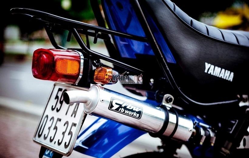 Minibike Yamaha Vogel độ khủng độc nhất Việt Nam giá hơn 400 triệu đồng-7