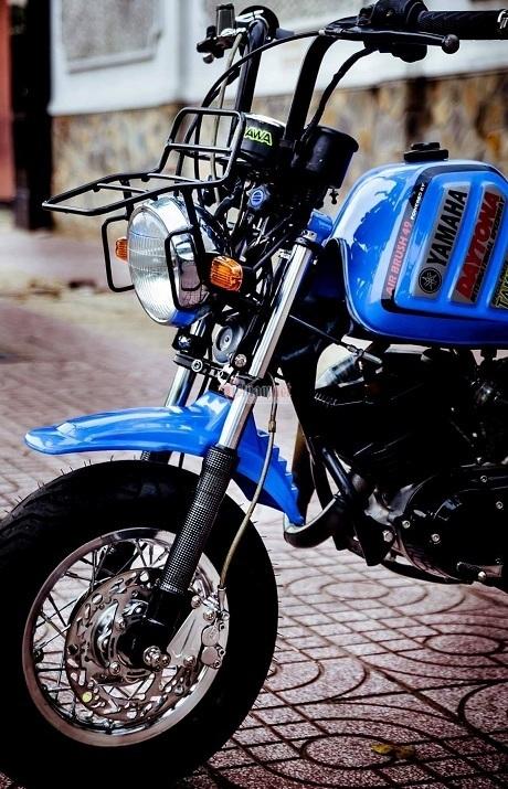 Minibike Yamaha Vogel độ khủng độc nhất Việt Nam giá hơn 400 triệu đồng-3
