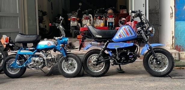 Minibike Yamaha Vogel độ khủng độc nhất Việt Nam giá hơn 400 triệu đồng-1