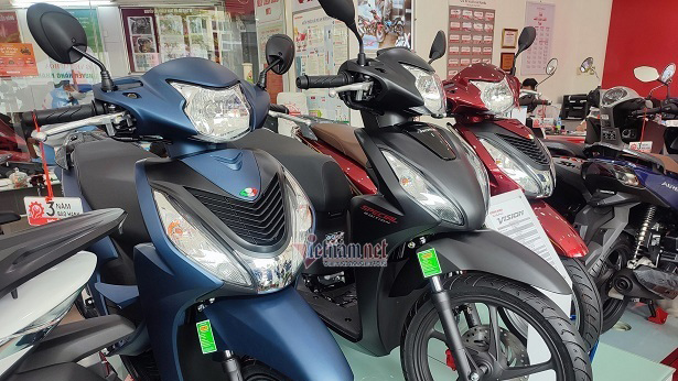 Ế ẩm do Covid-19, xe máy Honda SH, Vision giảm giá sốc đầu tháng 7