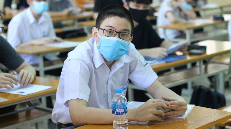 Bắc Giang dừng gấp 1 điểm thi tốt nghiệp vì thí sinh mắc Covid-19