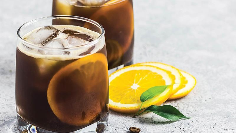 Cách pha cà phê cold brew vị chanh