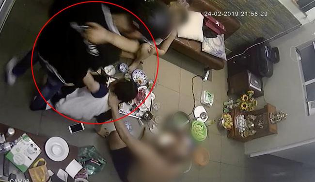 Đạt G bị tung clip hành hung bạn gái cũ, lao vào đạp tát khi Du Uyên đang ăn cơm với gia đình-1