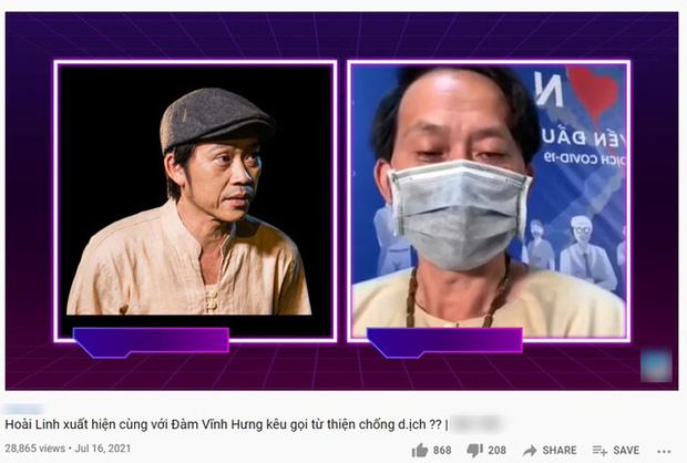 Rầm rộ clip NS Hoài Linh kêu gọi khán giả quyên góp chống dịch: 100 nghìn, 50 nghìn cũng được càng nhiều càng ít-1