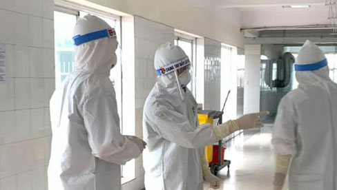 Hà Nội ghi nhận 18 ca dương tính với SARS-CoV-2 tại 7 quận/huyện