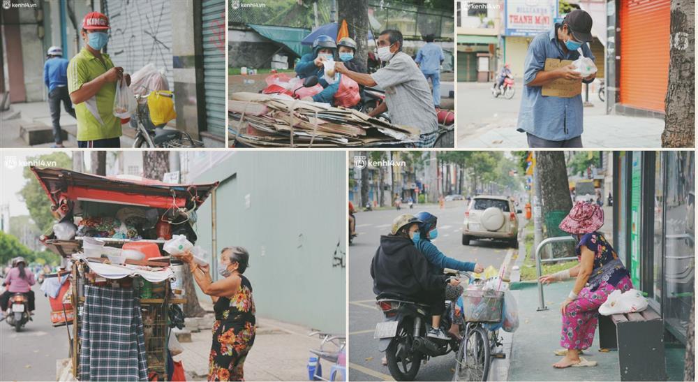 Sài Gòn giữa những ngày ngàn ca nhiễm: Người với người sống để thương nhau-13