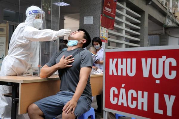 Sáng 22/7, Hà Nội phát hiện thêm 17 ca dương tính SARS-CoV-2 ở 9 quận, huyện-1