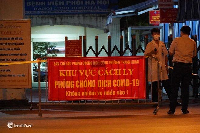 NÓNG: Phát hiện 9 ca dương tính SARS-CoV-2, Bệnh viện Phổi Hà Nội tạm dừng tiếp nhận bệnh nhân-2