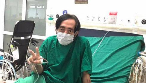 Nghệ sĩ Giang Còi gầy gò điều trị ung thư giai đoạn cuối