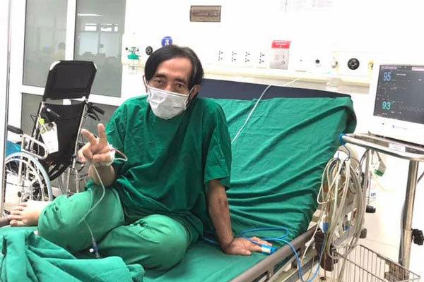 Nghệ sĩ Giang Còi gầy gò điều trị ung thư giai đoạn cuối-1