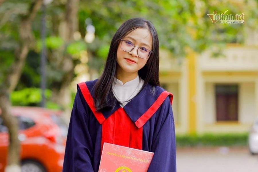 Nữ sinh Nghệ An trở thành thủ khoa sau 1 năm trượt đại học-1
