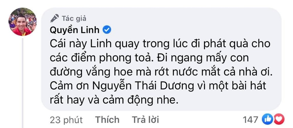 Quyền Linh thương Sài Gòn mùa dịch, cùng khán giả động viên lẫn nhau-1