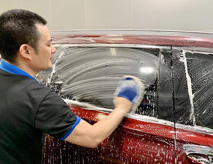 Sai lầm dễ mắc phải khi tự rửa ô tô tại nhà-2