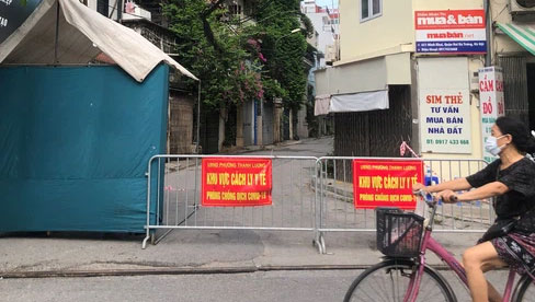 Hà Nội khẩn tìm người đến và giao dịch tại Công ty thực phẩm ở Minh Khai sau khi ghi nhận 21 ca dương tính SARS-CoV-2