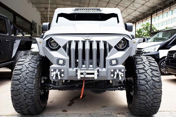 Dàn quái thú Jeep Gladiator độ 6 bánh, dân offroad phát mê-3