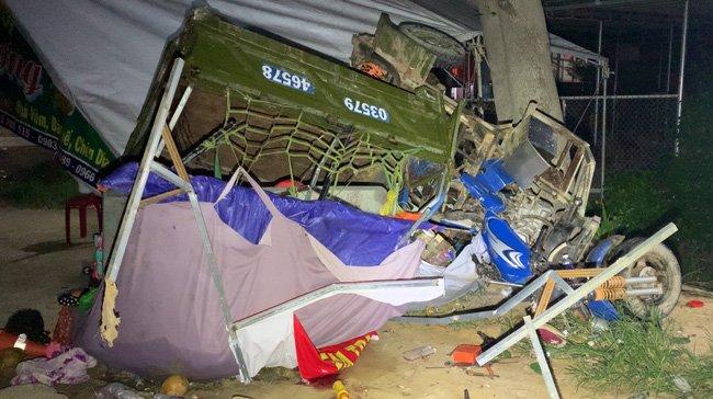 Đường về quê tránh dịch đầy tang thương và nước mắt của 5 người trong gia đình gặp nạn trên chiếc xe ba gác-2