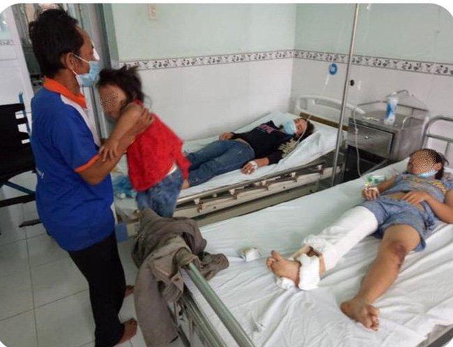 Đường về quê tránh dịch đầy tang thương và nước mắt của 5 người trong gia đình gặp nạn trên chiếc xe ba gác-3