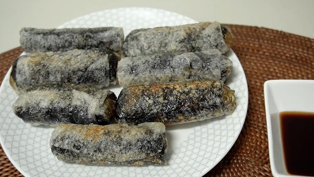 Mẹo làm món bánh tráng cuộn giòn rụm