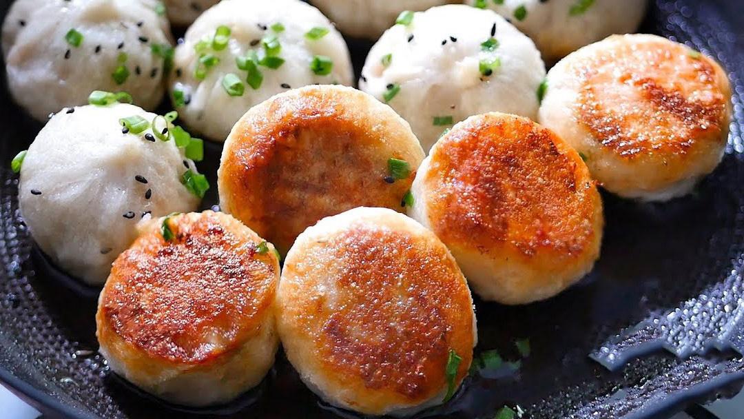 Cách làm bánh bao chiên mini