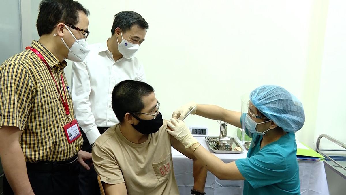 Thử nghiệm vaccine phòng Covid-19 mới nhất của Việt Nam