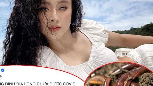 Angela Phương Trinh gây xôn xao vì chia sẻ bài thuốc giun đất chữa được COVID-19: Bác sĩ Đông y nói gì về điều này?