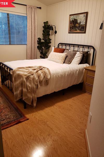 Phòng ngủ 'lột xác' bất ngờ với chi phí chưa tới 20 triệu đồng-3