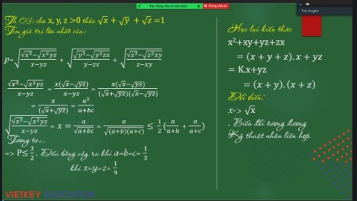Mẹo dạy học trực tuyến 'áp đảo' trên diễn đàn giáo viên