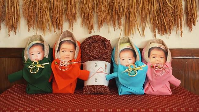 """Người Nhật tặng nhau """"em bé gạo"""" để thỏa nỗi nhớ con cháu trong mùa dịch"""