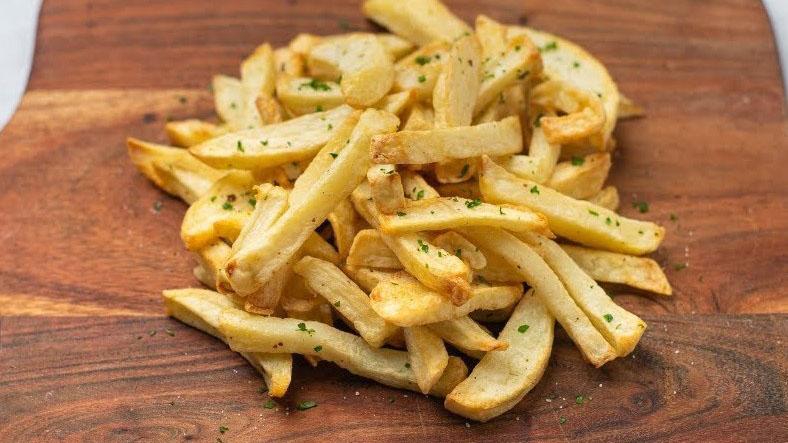 Mẹo chiên khoai tây bằng nồi không dầu