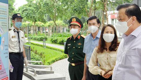 Bí thư Hà Nội: Kiên trì giãn cách xã hội