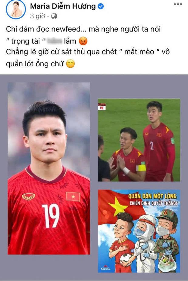 Sao Vbiz bức xúctrận Việt Nam gặp Saudi Arabia, MC Thành Trung phải xoá status cổ xuý netizen tấn công Facebook trọng tài-6