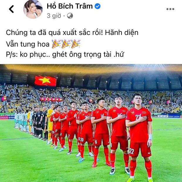 Sao Vbiz bức xúctrận Việt Nam gặp Saudi Arabia, MC Thành Trung phải xoá status cổ xuý netizen tấn công Facebook trọng tài-9