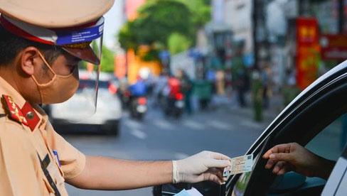 Ngày 6 và 7/9, Hà Nội chưa xử phạt người chưa có Giấy đi đường theo quy định mới