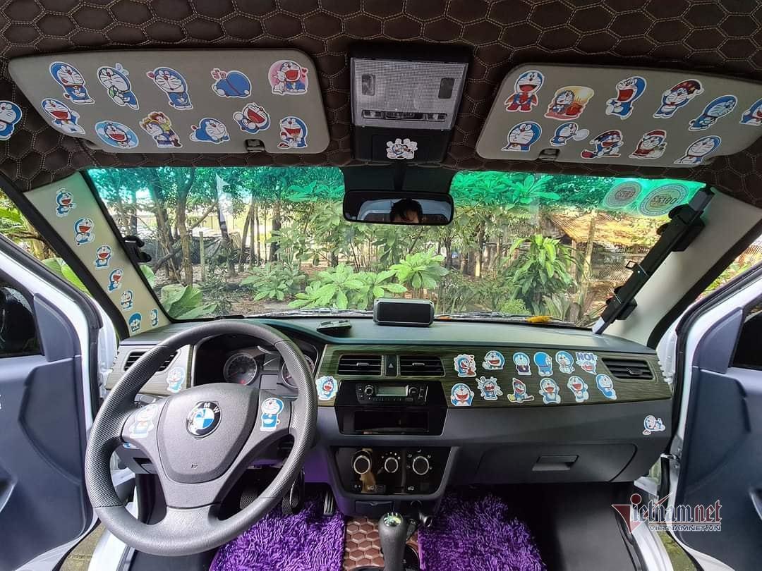 Vợ chồng 9X biến xe Van giá rẻ thành căn hộ di động đi muôn nơi-5
