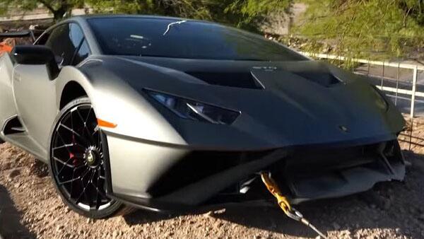 Cho thuê Lamborghini Huracan và kết quả