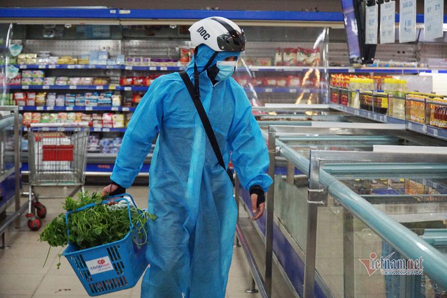 Đi siêu thị người dân đặc biệt lưu ý gì để tránh lây nhiễm Covid-19?-1