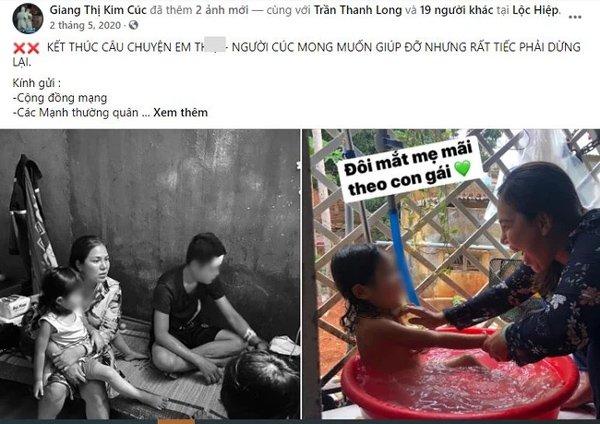 Vụ Giang Kim Cúc bị tố ăn chặn tiền từ thiện: Lợi dụng cả con gái nạn nhân để kêu gọi quyên góp-1