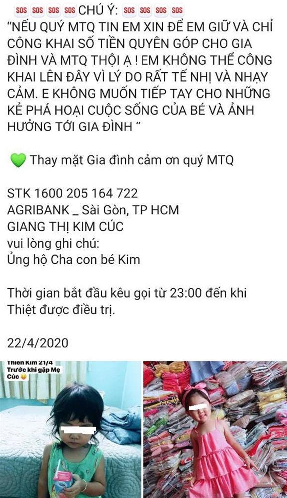 Vụ Giang Kim Cúc bị tố ăn chặn tiền từ thiện: Lợi dụng cả con gái nạn nhân để kêu gọi quyên góp-2