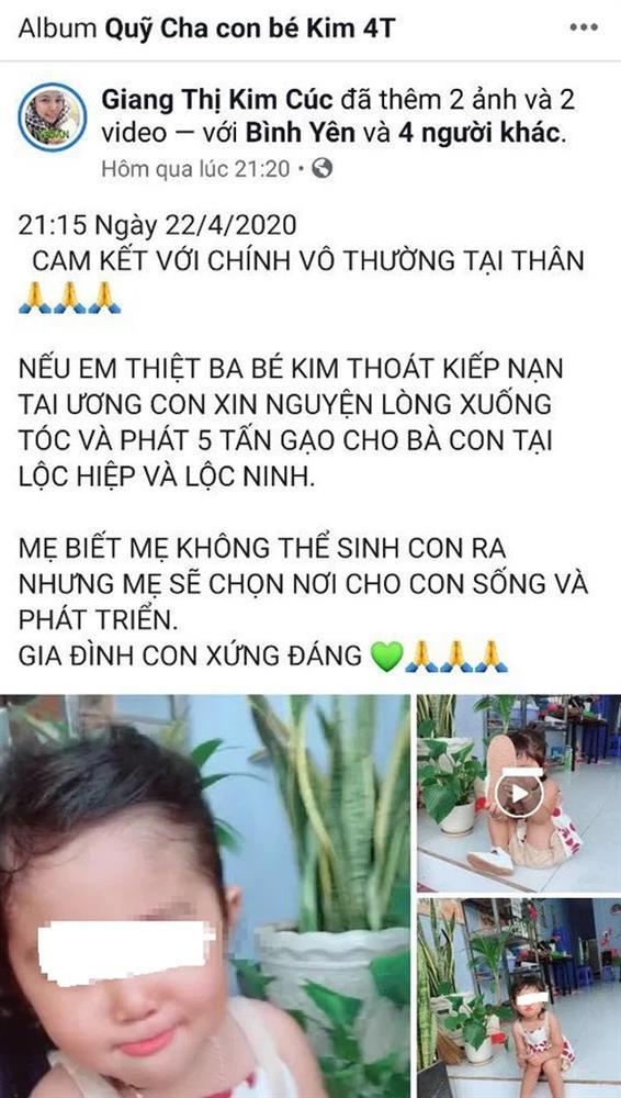 Vụ Giang Kim Cúc bị tố ăn chặn tiền từ thiện: Lợi dụng cả con gái nạn nhân để kêu gọi quyên góp-3