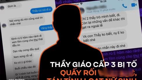 Thầy giáo cấp 3 tại Quảng Ninh bị tố quấy rối, nhắn tin tán tỉnh loạt nữ sinh, nhà trường chính thức lên tiếng!