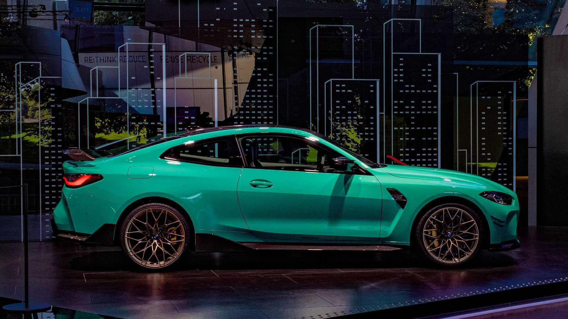 Chiêm ngưỡng xe sang BMW M4 màu xanh Mint lạ mắt-1