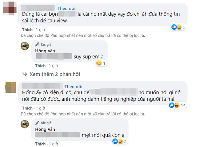 Hồng Vân lên tiếng về phát ngôn gây tranh cãi: Những người phao tin Phi Nhung nguy kịch là khốn nạn-3