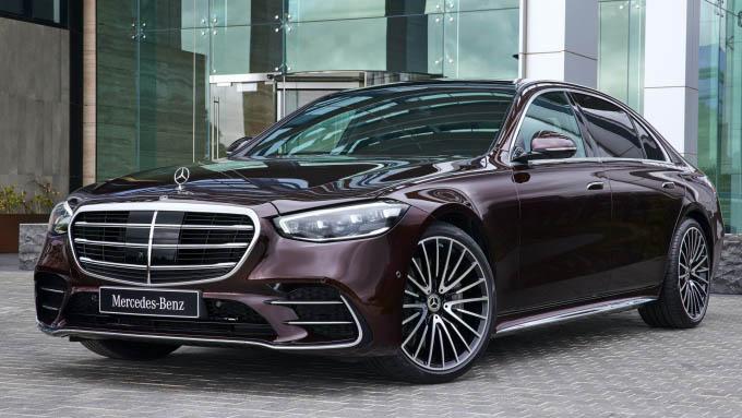 Xế hộp Mercedes-Benz S-class 2021 lại bị triệu hồi vì nguy cơ cháy xe