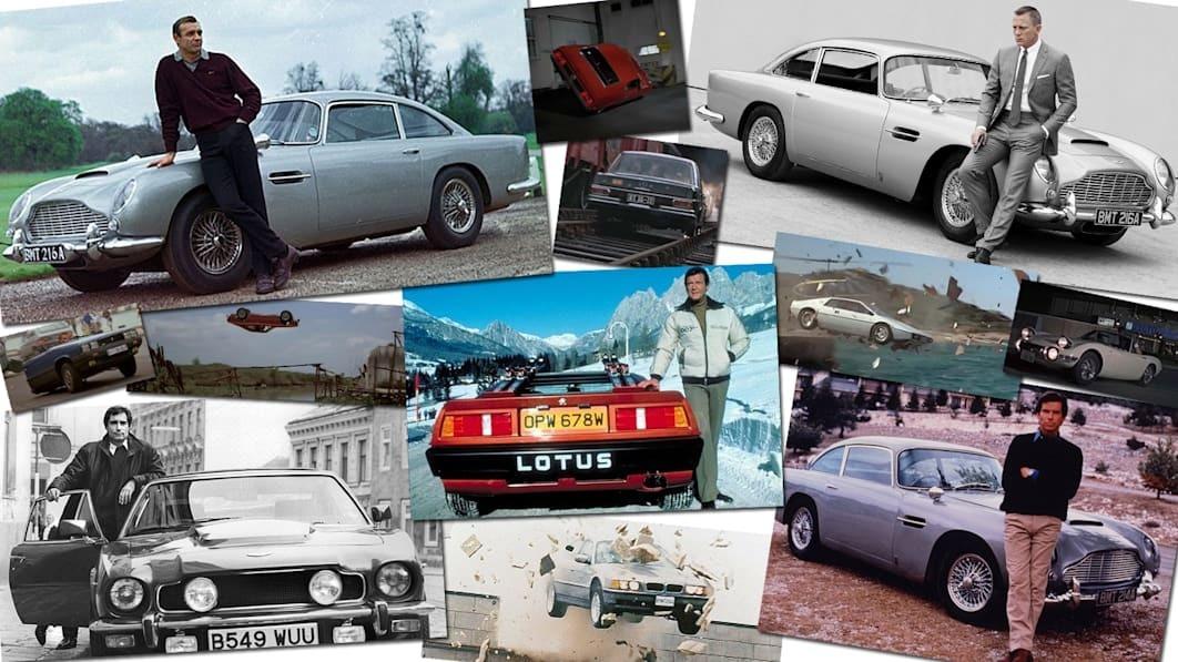 Những chiếc xe huyền thoại cùng cảnh rượt đuổi nghẹt thở trong James Bond